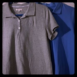2 Polo Style Shirts